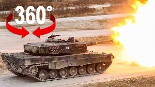 Download Fahre im Kampfpanzer Leopard I 360 Video Video