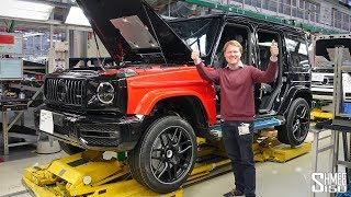 Download Building My AMG G63 at the Factory! Video