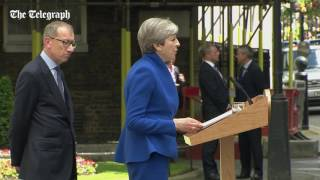 Download Theresa May confirms she will form a minority government Video
