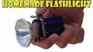 Download How to Make a Homemade Mini Flashlight Video