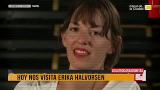 Download El Bestiario de la TV con la participación de Erika Halvorsen en 4 Caras Bonitas - 18/4 Video
