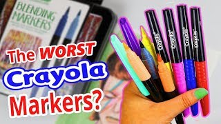 Download I WANT MY MONEY BACK CRAYOLA! ...Blend & Shade Marker Review Video