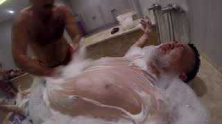 Download ASMR Turkish Bath Bubbles Hammam Head,Neck,Back Massage Video