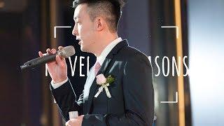 Download Heart warming speech from bride's brother 新娘哥哥幽默又感人的台北婚禮致詞 Video