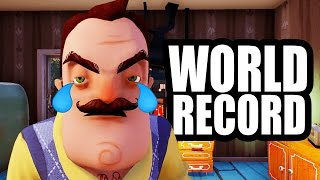 Download HELLO NEIGHBOR WORLD RECORD!! Video