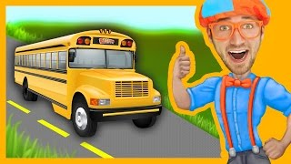 Download Blippi Wheels On The Bus | Songs For Toddlers Video