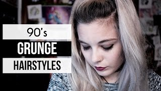 Download 10 GRUNGE HAIRSTYLES | 90's Video