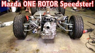 Download Mazda ONE ROTOR gets MOUNTED in the PORSCHE SPEEDSTER! *So Much Room!!* Video