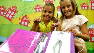 Download Moda tasarım çizimi. Kız çocuk videosu Video