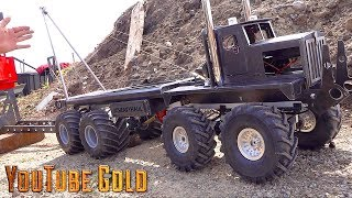 Download YouTube GOLD - 8x8 Heavy Haul Mine Site Move : Make it Snappy (s2 e4) | RC ADVENTURES Video