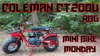 Download Coleman CT200U Mini Bike Unboxing & Ride (Mini Bike Monday) Video