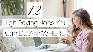 Download 12 Highest Paying Work-at-Home Jobs of 2018 Video