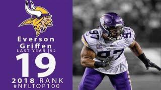 Download #19: Everson Griffen (DE, Vikings) | Top 100 Players of 2018 | NFL Video