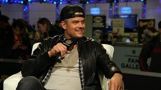 Download Josh Duhamel Talks Spaceman Movie, Playing Quarterback & Fergie | NFL Fan Pass Video