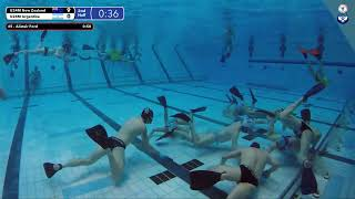 Download Game 35 (ARG vs NZL U24M) - 5th CMAS Underwater Hockey Age Group Worlds - Sheffield, UK (Court A) Video
