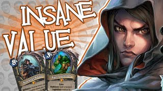 Download INSANE VALUE! New Witchwood Waifu? - Standard Constructed - The Witchwood Video