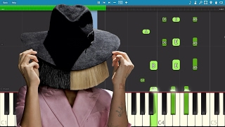 Download How to play Helium on piano - Sia - Fifty Shades Darker - Instrumental Video
