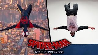Download Spider-Man: Into the Spider-Verse Stunts In Real Life (Parkour) Video