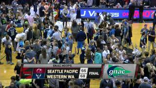 Download WWU Men's Basketball - Ricardo Maxwell game winning lay-in vs. Seattle Pacific Video