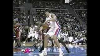 Download Darko Milicic - First NBA Game (Preseason 2003-2004) Video