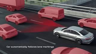 Download The new Audi A8 AI traffic jam pilot Video