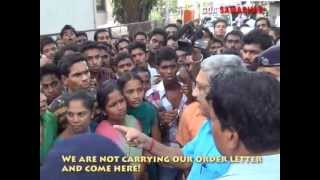 Download GOA CHIEF MINISTER WALKING INTO ANGRY MOB ON 29TH MAY Video