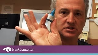 Download EyeCare 20/20: How to Apply Eye Drops - The Best Method for Putting Eye Drops Video