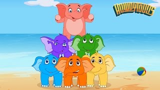Download Elephants Have Wrinkles by Rock'n'Rainbow - Music for Kids by Howdytoons Video