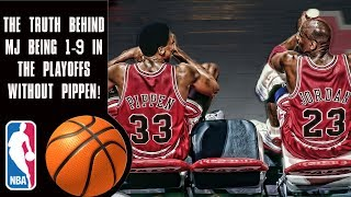 Download The truth behind Michael Jordan's 1-9 playoff record before Scottie Pippen! Video