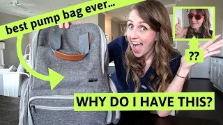 Download REVEALING WHAT I HOARD IN MY WORK BAG | Best Breast Pump Bag EVER... Video