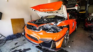 Download SCARY BMW CRASH DESTROYS M4! *5 AIRBAG DEPLOYED* Video