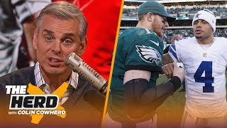 Download Chiefs are too reliant on Mahomes, Eagles vs Cowboys isn't as urgent as it seems | NFL | THE HERD Video