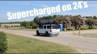 Download Supercharged TAHOE burnouts on the street!! Video