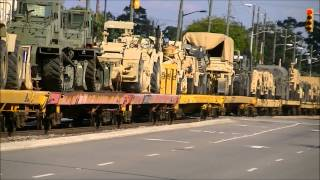 Download Chasing CSX Military Train, Amtrak horn show, and more!! Video