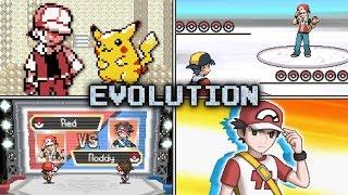 Download Evolution of Trainer Red Battles in Pokémon games (1999 - 2016) Video