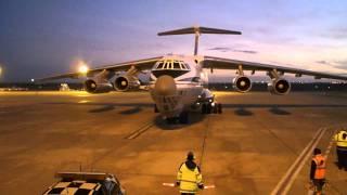 Download 224th Flight Unit, Il-76, RA-78844, at Faro, Portugal Video