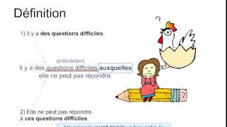 Download Les pronoms relatifs (introduction) Video