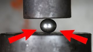 Download Experiment The Mighty Bearing Ball VS Hydraulic Press | The Crusher Video