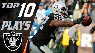 Download Raiders Top 10 Plays of the 2016 Season | NFL Highlights Video
