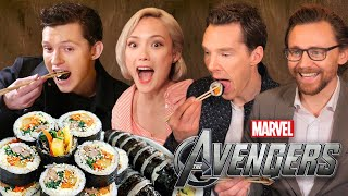 Download 한국음식을 먹어본 어벤져스 배우들의 반응?! (실화) Video