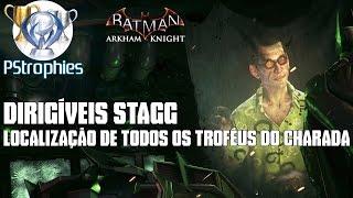 Download Batman™: Arkham Knight - Dirigíveis Stagg - Todos os troféus do Charada. Video