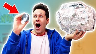 Download COME FARE UNA SFERA PERFETTA CON LA CARTA D'ALLUMINIO! (polishing aluminum foil ball) Video