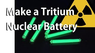 Download Make a Tritium Nuclear Battery or Radioisotope Photovoltaic Generator Video