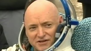 Download Scott Kelly returns to Earth after nearly a year in space Video