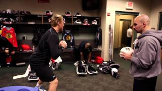 Download Blackhawks Road Trip with Paul Goodman (Strength and Conditioning Coach) Video