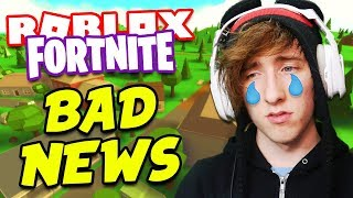 Download ROBLOX FORTNITE NEW UPDATE! *BAD NEWS!* | PLUS BIG ANNOUNCEMENT! Video