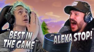 Download Ninja Makes The Most Insane Play With The Crossbow! Alexa Almost Leaks CDN's Personal Info! Video