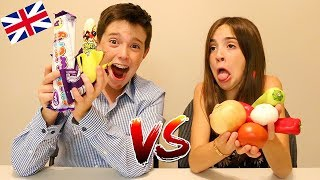 Download BRITISH CANDY vs REAL FOOD!! Video