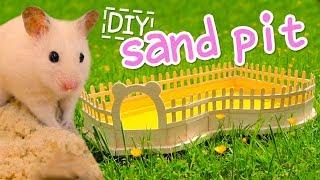 Download 🐾 Sand Pit   HAMSTER DIY 🐾 Video