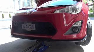 Download Painless Scion FRS front lip install! Video